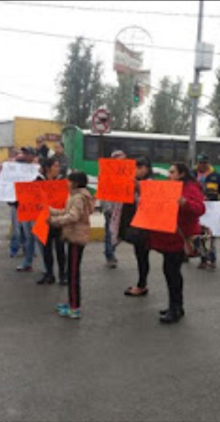 Vecinos de Tláhuac protestan por impunidad del crimen organizado