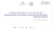 Semana Nacional de Actualización ACpEIEB