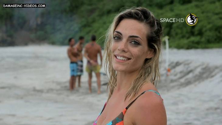 Argentina top model Emilia Attias in bikini