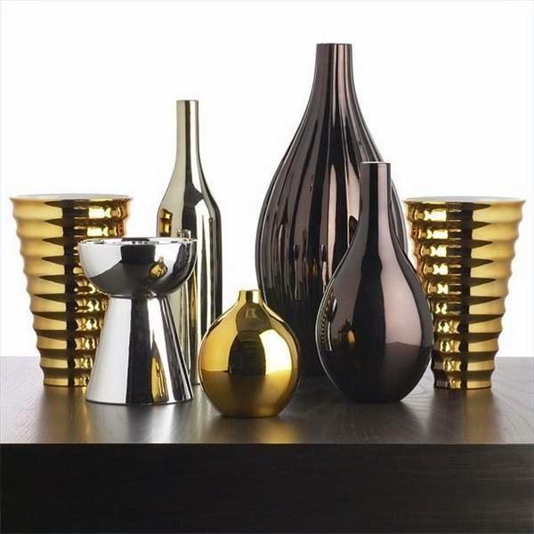 décoration en or et argent