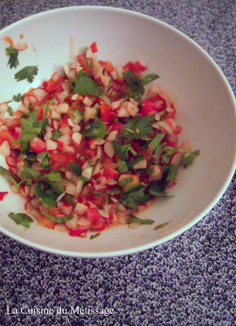 salade de radis indienne ou marathe