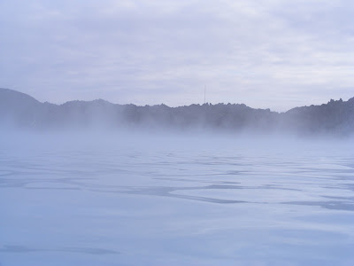 Laguna albastra, Islanda