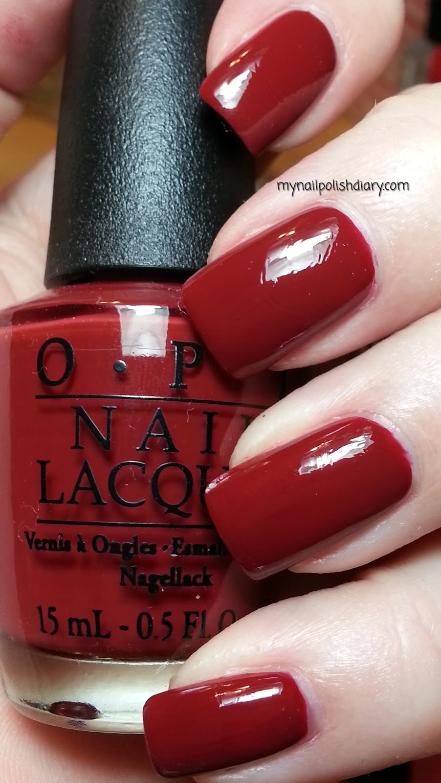 my nail polish diary: opi lost on lombard