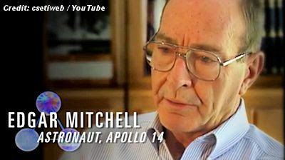 UFOs and Beyond: Apollo 14 Astronaut Ed Mitchell Is Looking Up
