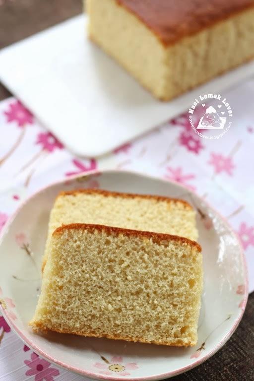 Easy Castella Cake Recipe