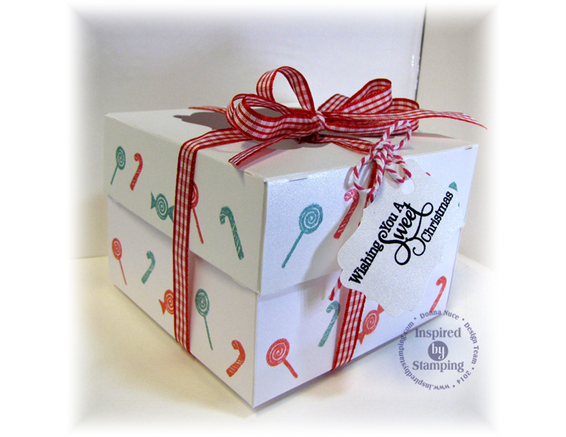 Inspired by Stamping, Crafty Colonel, Sugar and Spice, Cupcake Box and Tag