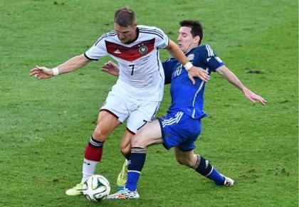 gambar final piala dunia jerman vs argentina