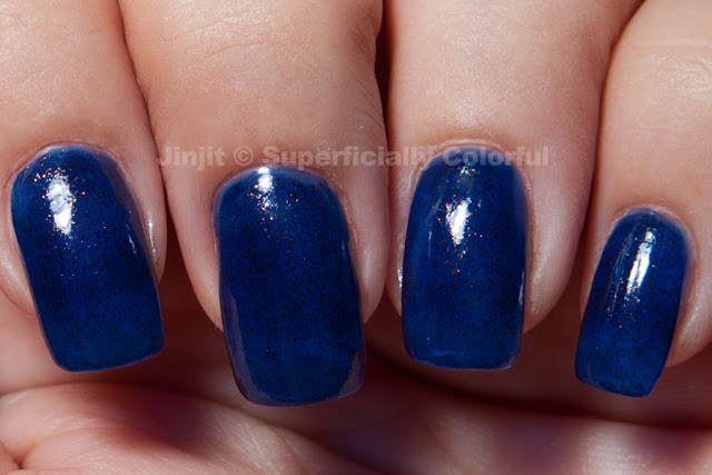 Girly Bits Cu Blue