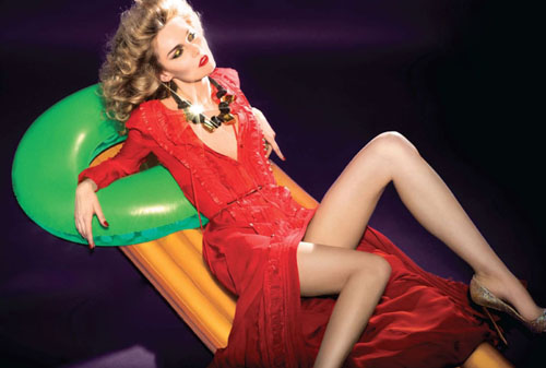 Russian Supermodel Tatyana Usova