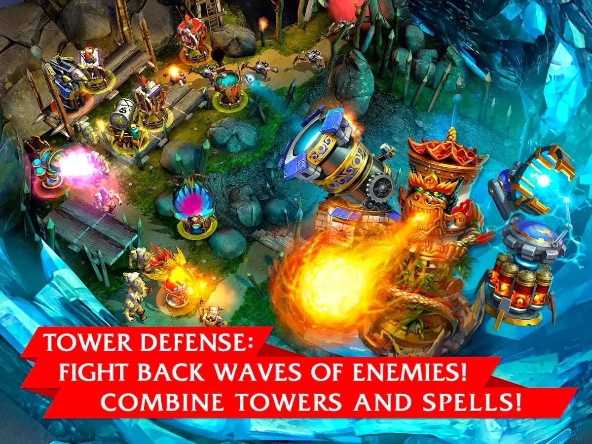 Defenders v1.6.55502 Mod [Unlimited Money]