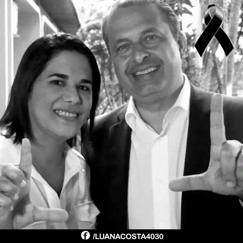 Luana Alves lamenta a morte de Eduardo Campos
