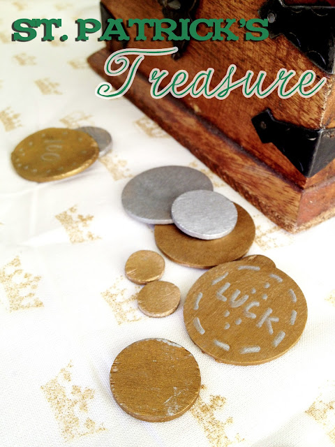 DIY Play Money: St. Patrick's Treasure