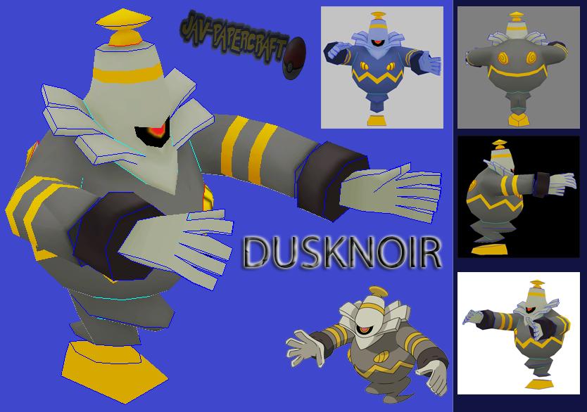 Dusknoir Paper Model