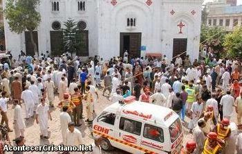 Ataque suicida en iglesia