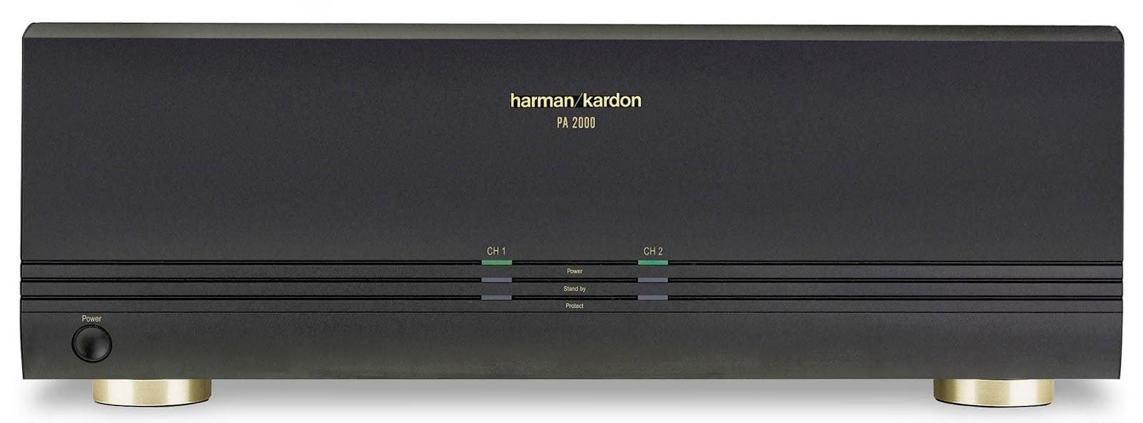 Harmon Kardon PA 2000 Bridgeable Multichannel Amplifier