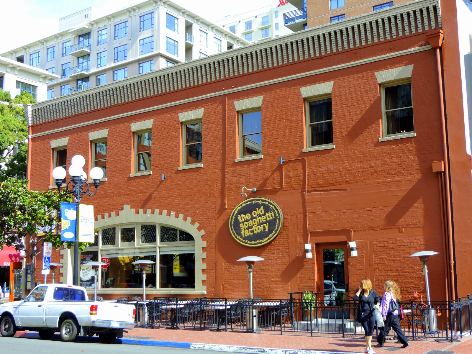 The Old Spaghetti Factory has provided many generations of San Diegans with warm memories and consistently great service and the tradition continues to this day. If you want to learn more about the beautiful, historic buildings in the Gaslamp, take an Historical Walking Tour on Thursdays at 1 p.m. or Saturdays at 11 a.m.