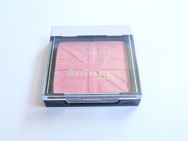 rimmel lasting finish blush 050 live pink