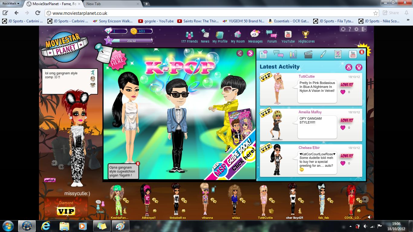 Missycutie'z Msp bLoG..♫ ♥: Gangnam Style on Msp OMG !