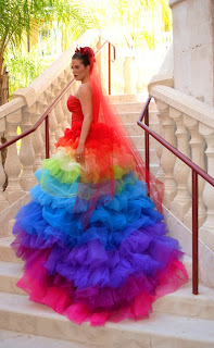 Colorful Pictures- Best Bridal Gown EVER