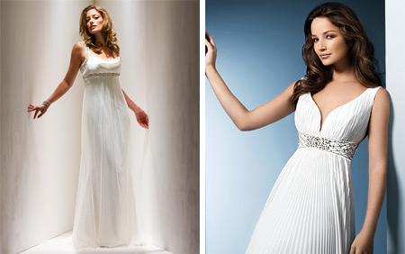 Wedding themes wedding style greek wedding customs for Greek style wedding dress