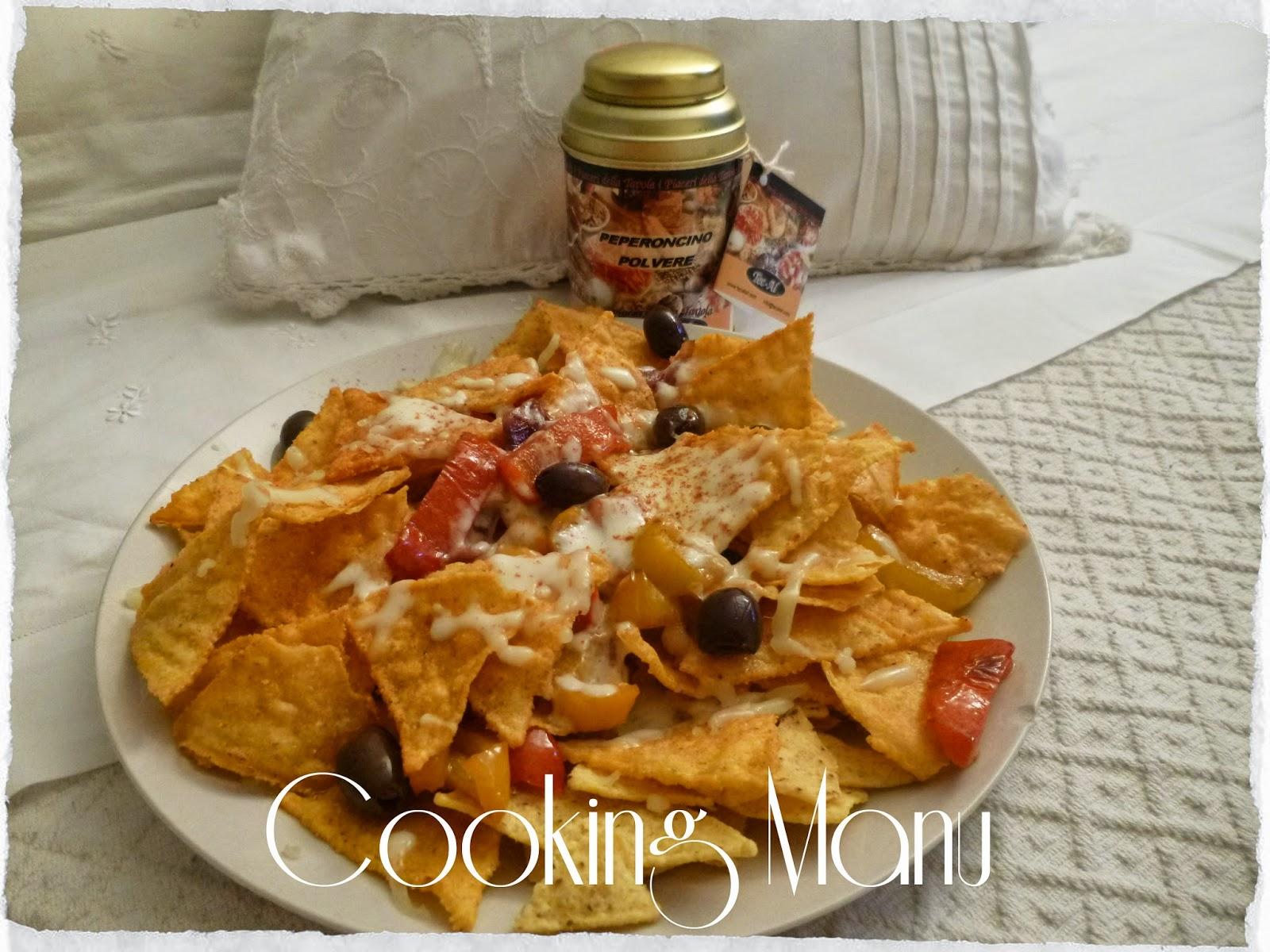 nachos al peperoncino (chilli nachos)