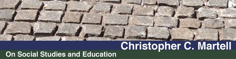 Christopher Martell on Social Studies and Education