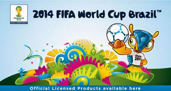 Baner Alfamart official licensed merchandise FIFA piala dunia Brazil 2014