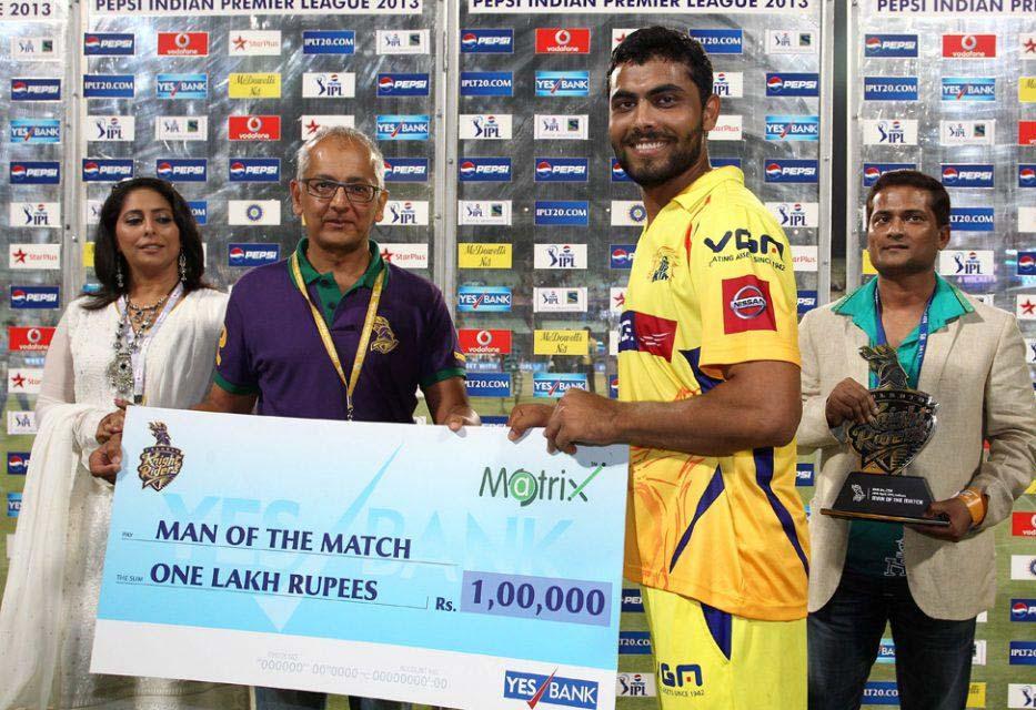 Ravindra-Jadeja-Man-of-the-Match-KKR-vs-CSK-IPL-2013