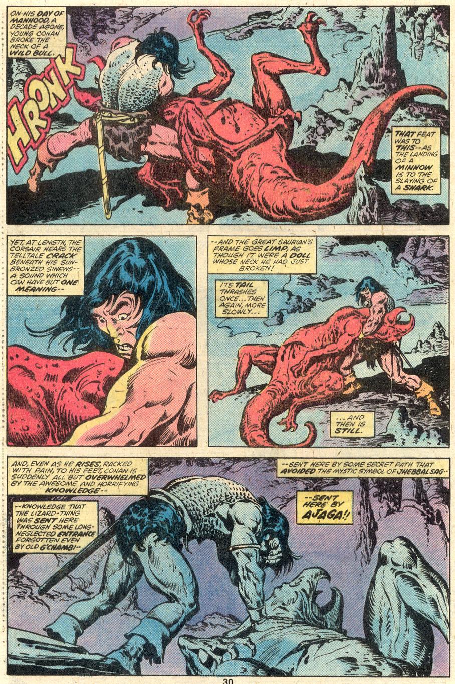 Conan the Barbarian (1970) Issue #95 #107 - English 17