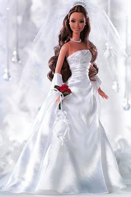 Gaun Pengantin ala Barbie Paling Indah