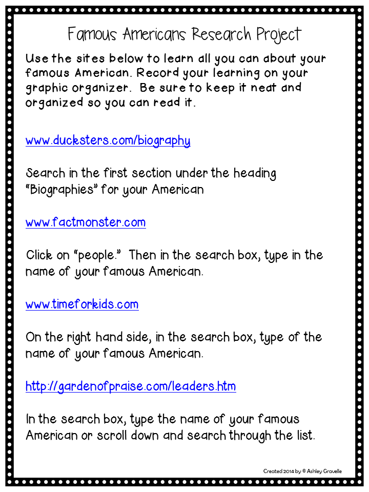 list of famous americans