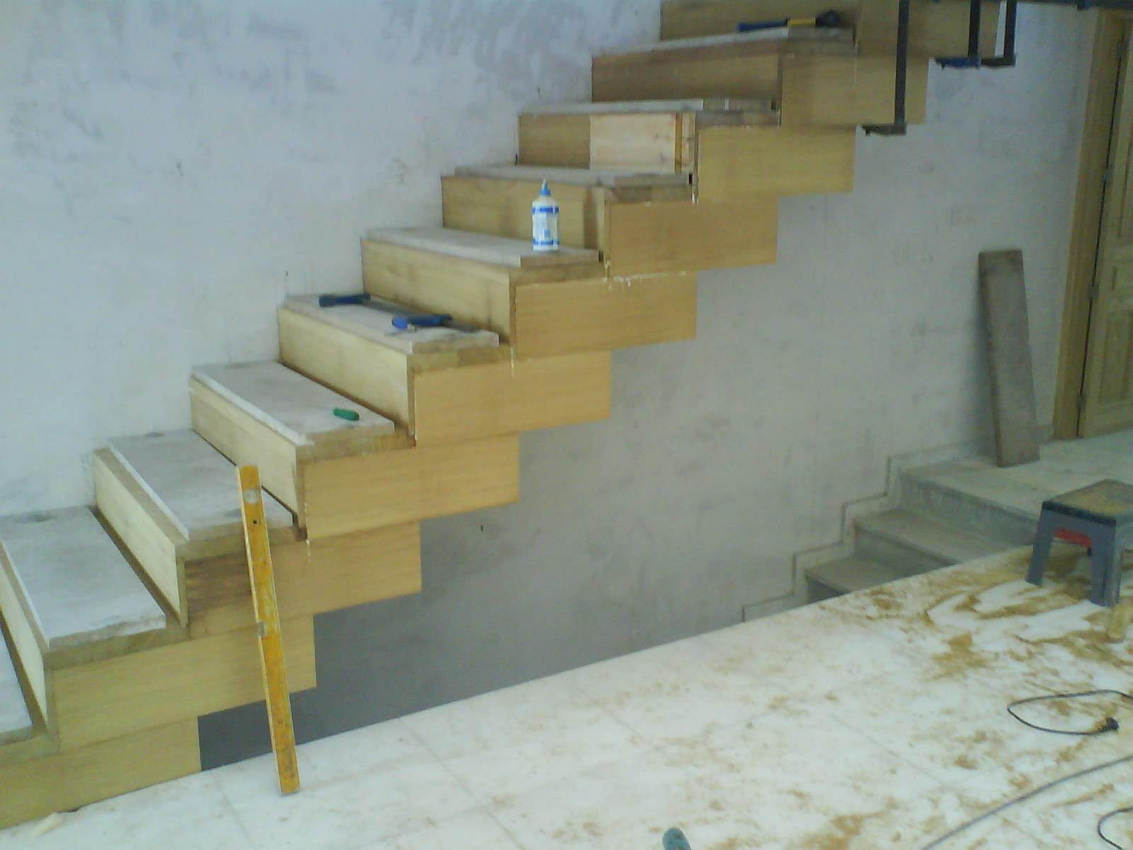 Carpinter a baena escalera de madera - Escalera madera exterior ...