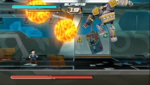 Astro Boy: The Video Game PSP ISO Screenshoot 2