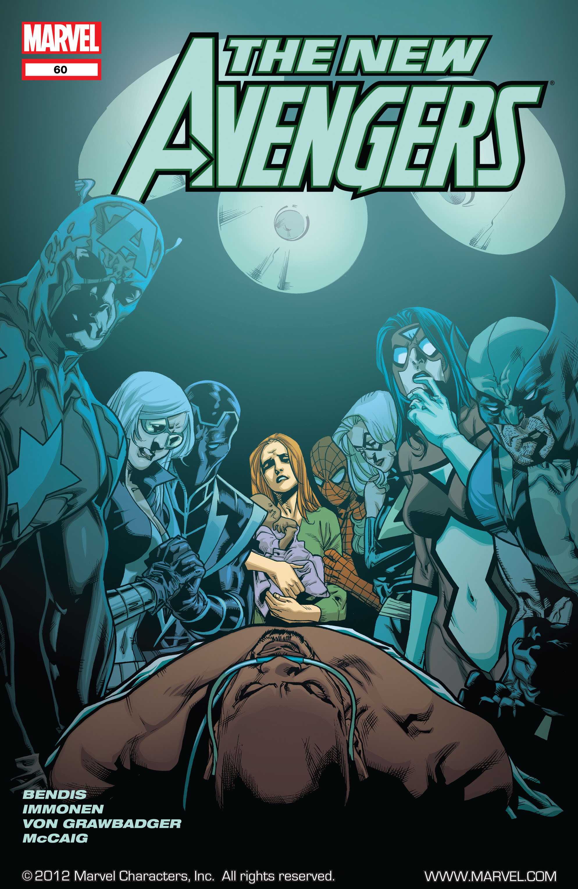 New Avengers (2005) issue 60 - Page 1