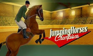 Screenshots of the Jumping Horses Champions for Android tablet, phone.