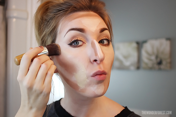 how to make cheekbones stand out with makeup