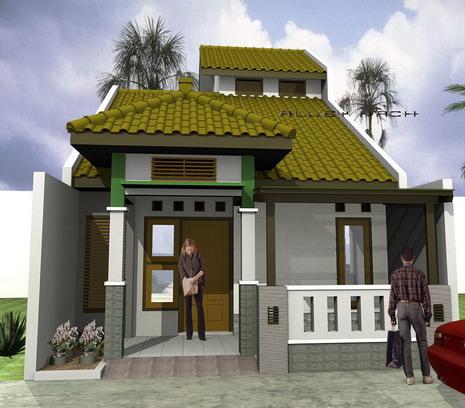 Contoh Desain Rumah Sederhana Minimalis 2014