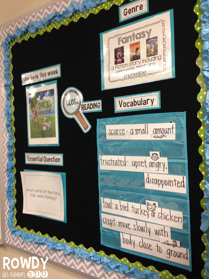 Trendy Close Reading Bulletin Board 720 x 960 · 1473 kB · png