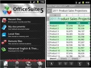Download OfficeSuite Pro v5.5.748 for Android