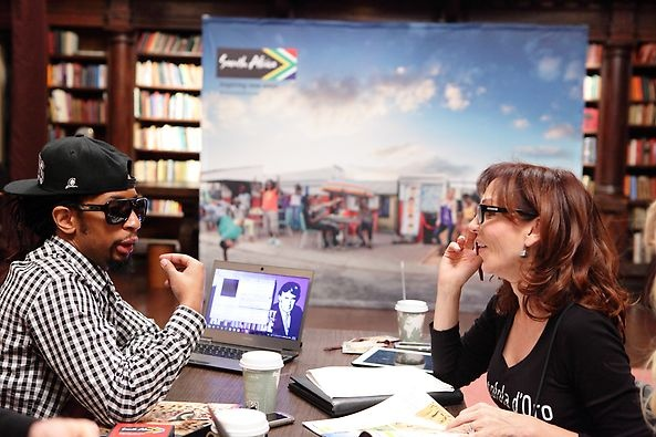 Celebrity Apprentice Lil Jon and Marilu Henner