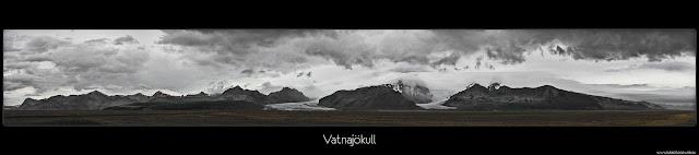 Islandia, Lodowiec - Kartki z Podróży - Panorama
