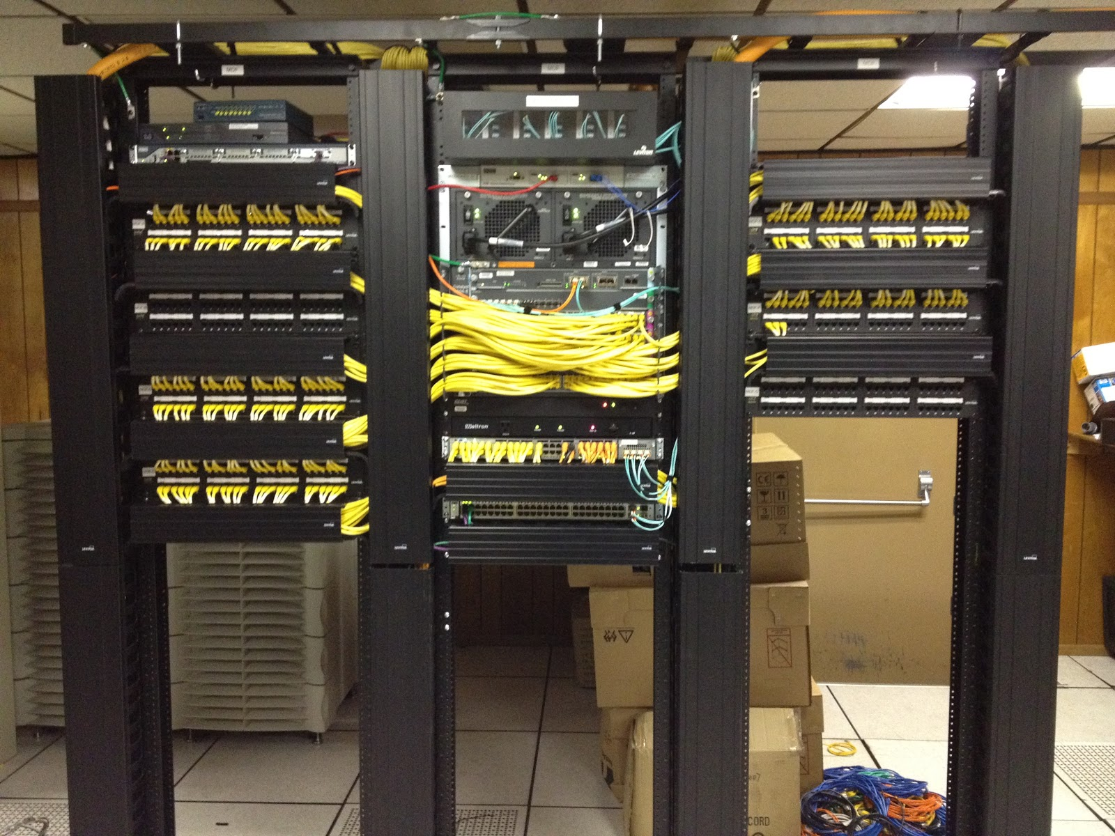 Home Network Wiring Closet Guide And Troubleshooting Of Diagram Mdf Idf Elsavadorla Structured Diy