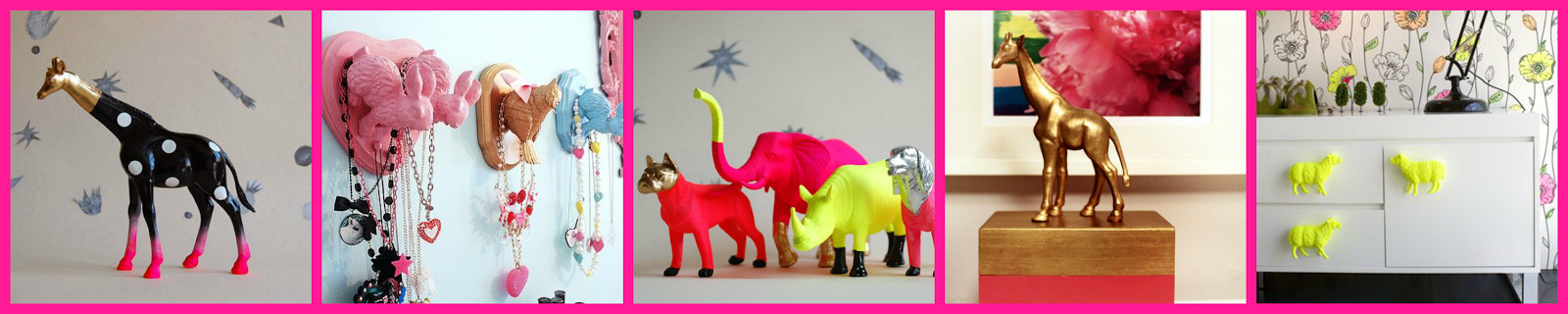 SPRAY PAINT PLASTIC ANIMALS / ANIMALES PINTURA SPRAY DIY