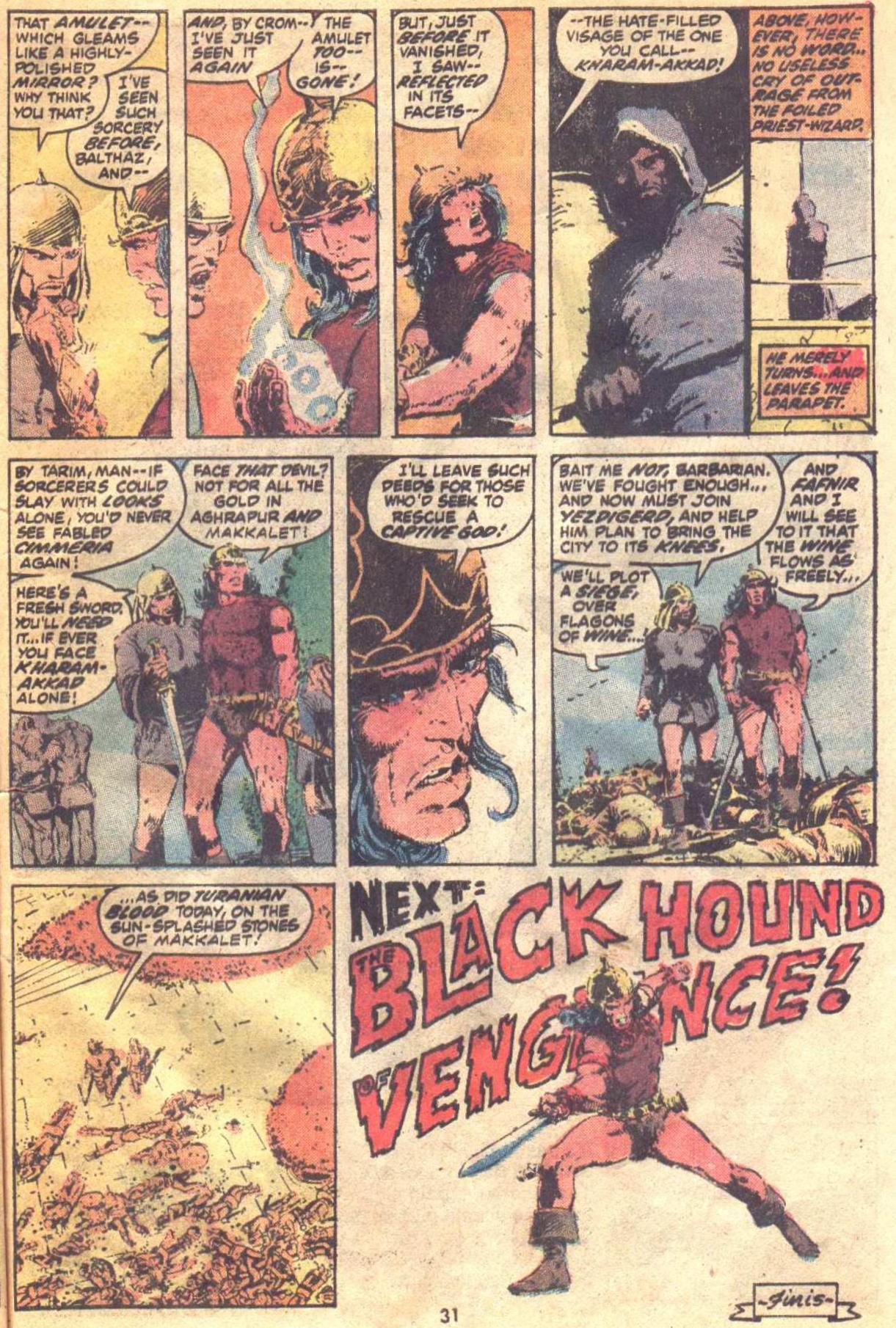 Conan the Barbarian (1970) Issue #19 #31 - English 23
