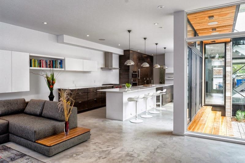 Diseño de Interiores & Arquitectura: Casa Moderna de Dos Pisos con ...