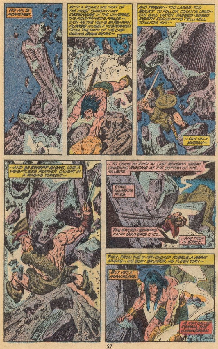 Conan the Barbarian (1970) Issue #31 #43 - English 19