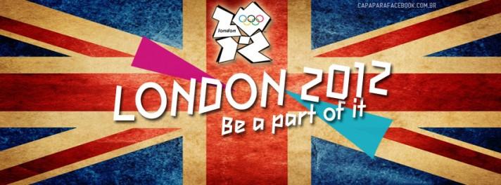 Capa Londres 2012 para Facebook