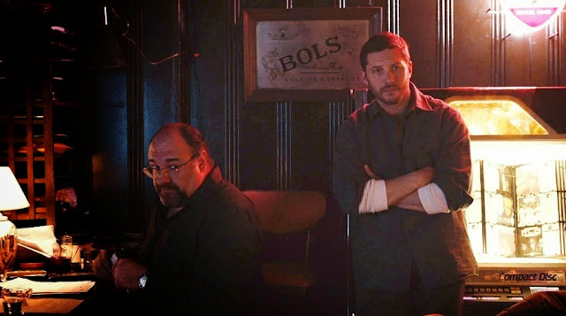 The Drop Tom Hardy James Gandolfini movie still