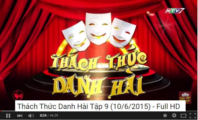 Thách Thức Danh Hài Tập 9 [ 10/06/2015 ] Full HD