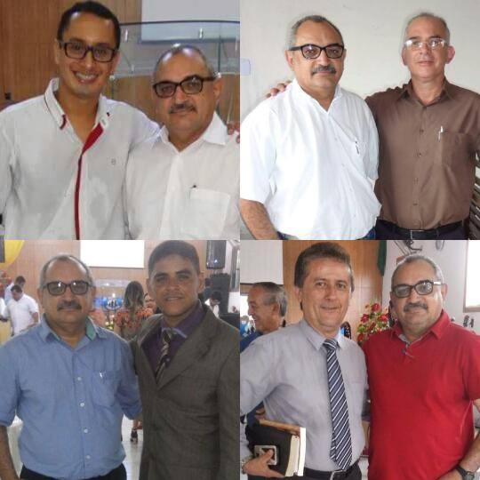 Erlandy, Juliano Herbert, Gleyson José e o Pr. Carlos Formiga